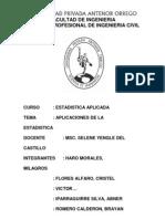 Estadistica Aplicada - Aplicaciones de La Estadistica