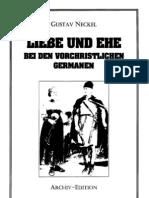 Neckel, Gustav - Liebe Und Ehe Bei Den Vorchristlichen Germanen (1932-2002, 63 S., Scan-Text, Fraktur)