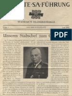 Oberste SA Fuehrung - Folge 6 - Nachrichtenblatt 06.1944 (8 S., Scan)