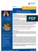 Halls News Issue Five 2012