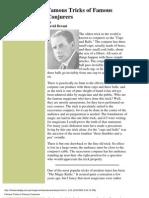 David Devant - Famous Tricks of Famous Conjurers
