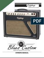 Manual Epiphone Blues Amplifier
