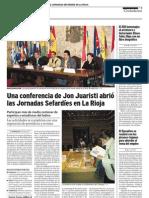 Lishana.org - VI Jornadas Sefardíes en La Rioja (dec 2008)
