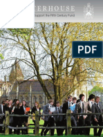 Charterhouse School, Fifth Century Fund Brochure