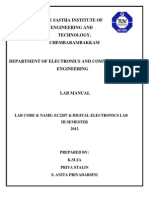 Digital Ece Manual