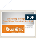 Marketing Strategy for GreatWhite Electricals Pvt
