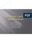 Working Capital Management- WCEFM (Group- 7)