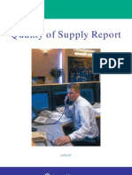 Scottish Power Quality of Supply Report 96-97