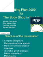 1 the BODY SHOP Marketing Plan[1]