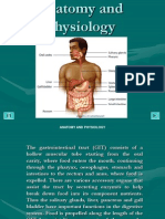 anatomy and physiology:gastrointestinal tract powerpoint presentation