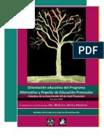Orientación educativa del PAPEP. Autor Marcel Arvea Damián.
