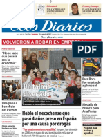 Ecos Diarios Domingo 19 de agosto 2012