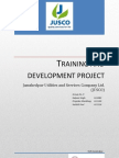 Training and Development Project JUSCO Sec B Group No.9