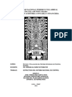 Estructura Sistema Nacional Control