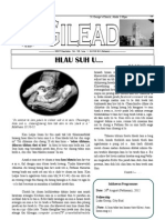 GILEAD Volume XII Issue 1