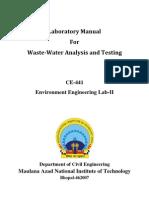 Environment Lab Manual