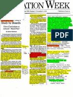 Carnegie Units Should Go Robert Rothman 1998 2pgs EDU