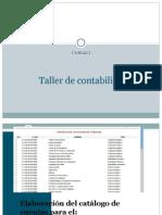 Catálogo de cuentas (I.P. y M.A.)