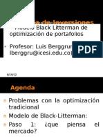 GI Black Litterman