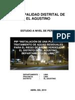 Pip Planta de Tratamiento El Agustino (Final v)