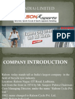 Ralson(India) Limited