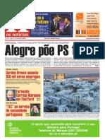 """Primeira Pagina """"As Noticias"""""""