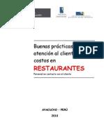 Buenas prácticas para la  atención al cliente y cálculo de costos
