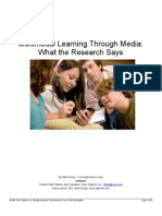 Multimodal Learning Through Media