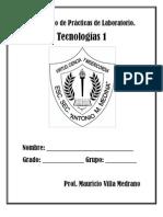 Cuadernillo prácticas de laboratorio tecnologías 1