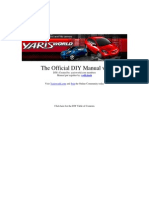 Yaris DIY Manual