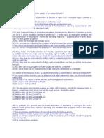 Succession MCQ Questions (2011)