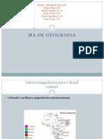 M.A. de Geografia 3ª ETAPA