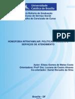 HOMOFOBIA INTRAFAMILIAR POLÍTICAS PÚBLICAS E SERVIÇOS DE ATENDIMENTO