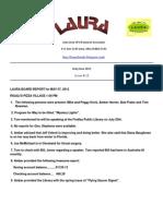 Laura Newsletter Number 13