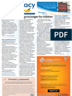 Pharmacy Daily for Mon 20 Aug 2012 - Cold drug changes, CHF website, Smarter manufacturing, New health journal and much more...