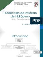 Producción de Peróxido de Hidrógeno_Erick González