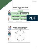 Elementos Básicos de un Plan de SSO - II PARTE