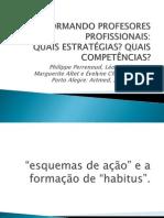 FORMANDO PROFESORES PROFISSIONAIS