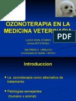 Ozonoterapia en La Medicina Veterinaria