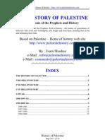The History of Palastine