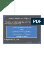 Aula 64 - Governo João Goulart