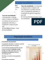 Aula 81 - População Brasileira - Conceitos Fundamentais