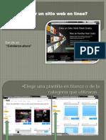 Analiza bien y aprende a crear una pagina web en linea