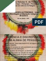 UMA ABORDAGEM À EDUCAÇÃO indígena brasileira