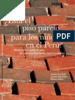 ¿Está el piso parejo para los niños en el Perú?