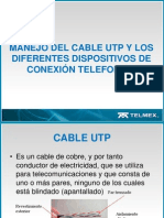 Cable Utp y Tomas Telefonicas