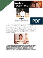 Biografia de Sensei Julio Rodriguez