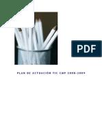 Plan de ActuaciÓn Tic Cmp 2008