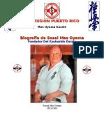 Biografia de Masutatsu Oyama