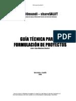 Guía Técnica para la Formulación de Proyectos PROMUNDI